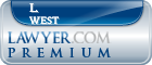 L. Galen West  Lawyer Badge