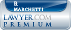 R David Marchetti  Lawyer Badge