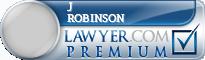J Stuart Robinson  Lawyer Badge