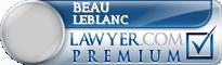 Beau Anthony Leblanc  Lawyer Badge