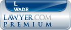 L Douglas Wade  Lawyer Badge