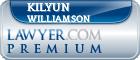 Kilyun Luke Williamson  Lawyer Badge