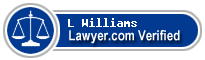 L O'Neal Williams  Lawyer Badge