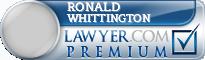 Ronald L Whittington  Lawyer Badge
