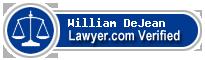 William Ross DeJean  Lawyer Badge
