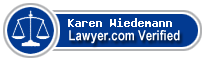 Karen Wiedemann  Lawyer Badge