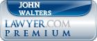 John R Walters  Lawyer Badge