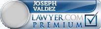 Joseph Alex Valdez  Lawyer Badge