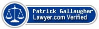 Patrick D Gallaugher  Lawyer Badge