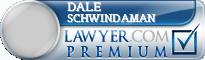Dale Fredrick Schwindaman  Lawyer Badge