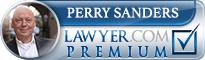 Perry R Sanders  Lawyer Badge