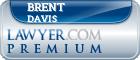 Brent Allen Davis  Lawyer Badge
