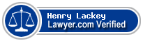 Henry L Lackey  Lawyer Badge