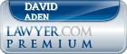David Ross Aden  Lawyer Badge