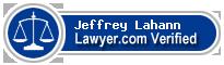 Jeffrey C. Lahann  Lawyer Badge