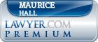 Maurice Dewayne Hall  Lawyer Badge