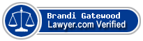 Brandi Denton Gatewood  Lawyer Badge