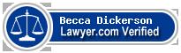 Becca Underwood Dickerson  Lawyer Badge