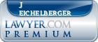 J Matthew Eichelberger  Lawyer Badge