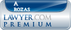 A Bruce Rozas  Lawyer Badge