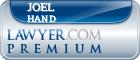 Joel Dee Hand  Lawyer Badge