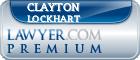 Clayton Lockhart  Lawyer Badge