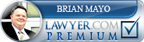 Brian D Mayo  Lawyer Badge
