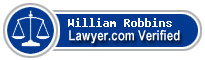 William Shanler Robbins  Lawyer Badge