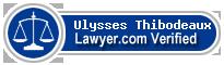 Ulysses G Thibodeaux  Lawyer Badge