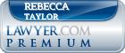 Rebecca Cartledge Taylor  Lawyer Badge