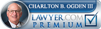 Charlton B. Ogden  Lawyer Badge