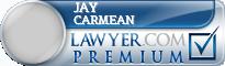 Jay Paul Carmean  Lawyer Badge