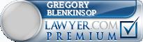 Gregory J. Blenkinsop  Lawyer Badge