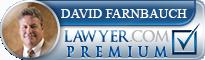 David Lee Farnbauch  Lawyer Badge