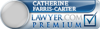 Catherine L Farris-Carter  Lawyer Badge