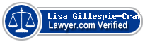Lisa A. Gillespie-Craft  Lawyer Badge
