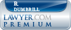 R. Douglas Dumbrill  Lawyer Badge