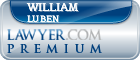 William C. Luben  Lawyer Badge
