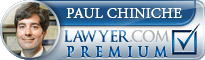 Paul A Chiniche  Lawyer Badge