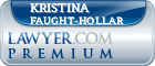Kristina L. Faught-Hollar  Lawyer Badge