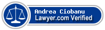 Andrea Lynn Ciobanu  Lawyer Badge
