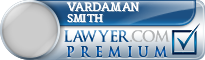 Vardaman K. Smith  Lawyer Badge