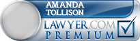 Amanda Jones Tollison  Lawyer Badge