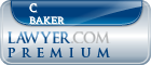 C Gaines Baker  Lawyer Badge