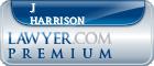 J Clifford Harrison  Lawyer Badge