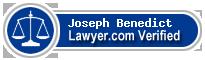Joseph Luke Benedict  Lawyer Badge
