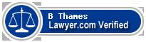 B Jackson Thames  Lawyer Badge