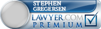 Stephen K. Gregersen  Lawyer Badge