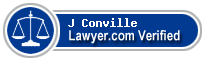 J Ward Conville  Lawyer Badge