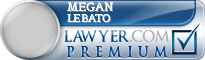 Megan Elizabeth LeBato  Lawyer Badge